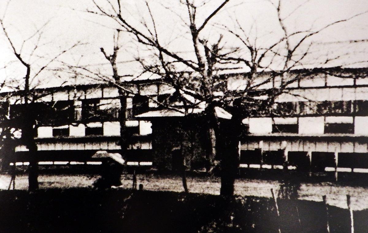 私立会津中学校開校の頃の校舎