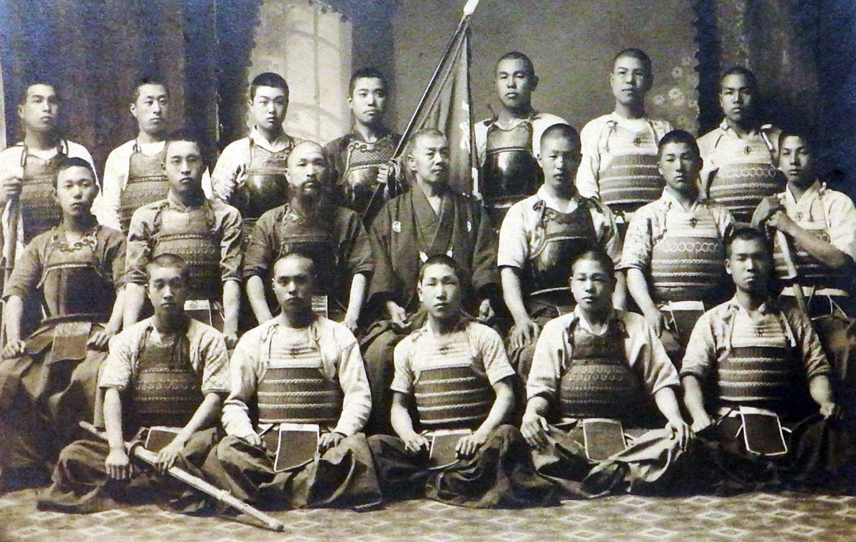 剣道部写真